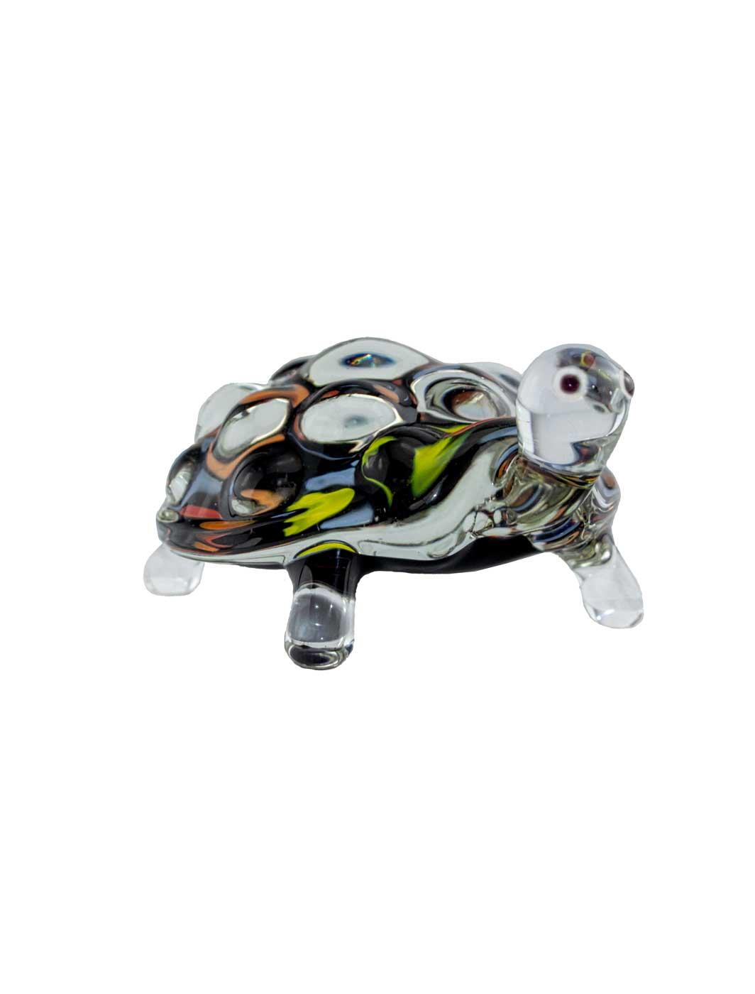 Glasfigur Schildkröte