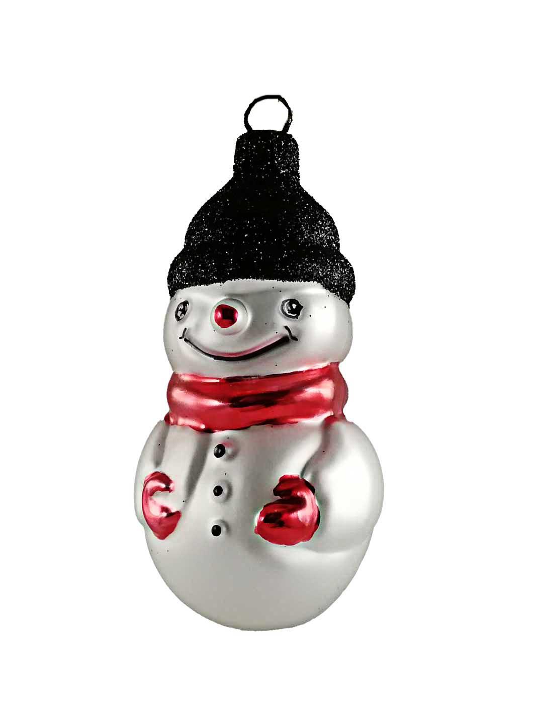 Schneemann mit Schal